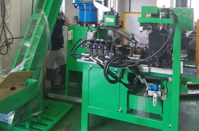 conveyor+banding machine